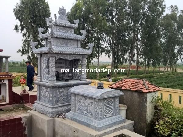 Lăng mộ tổ họ Cao Trung Thái Thụy Thái Bình 01