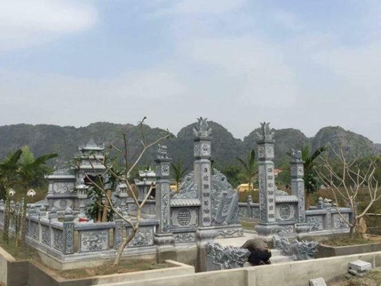 Mẫu khu lăng mộ LD 02