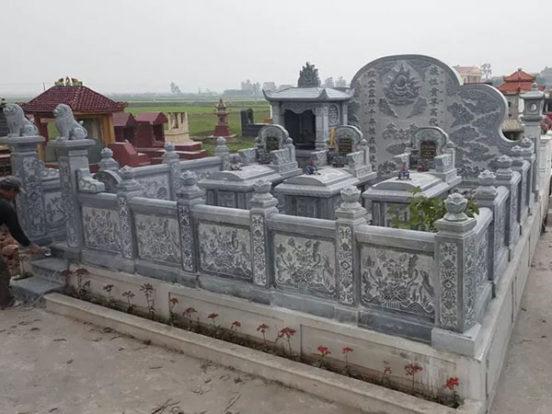 Mẫu khu lăng mộ LD 06