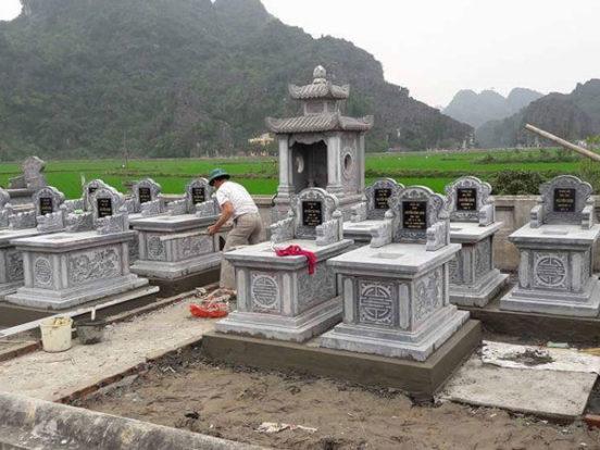 Mẫu khu lăng mộ LD 07