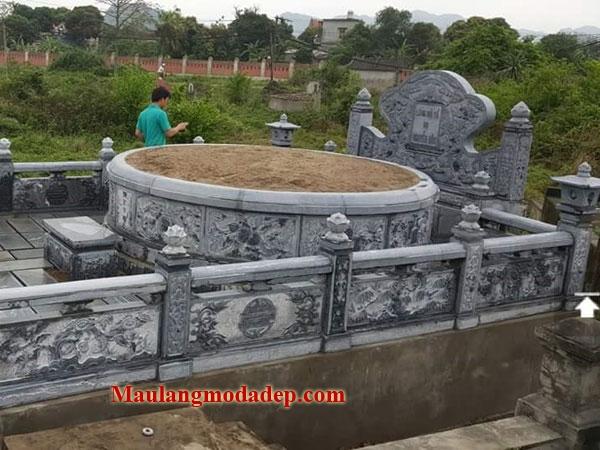 Mẫu khu lăng mộ LD 08