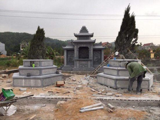 Mẫu khu lăng mộ LD 09
