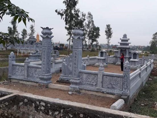Mẫu khu lăng mộ LD 11