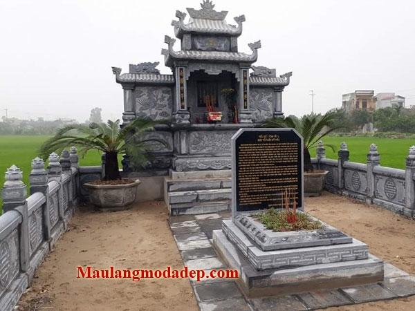 Mẫu khu lăng mộ LD 12