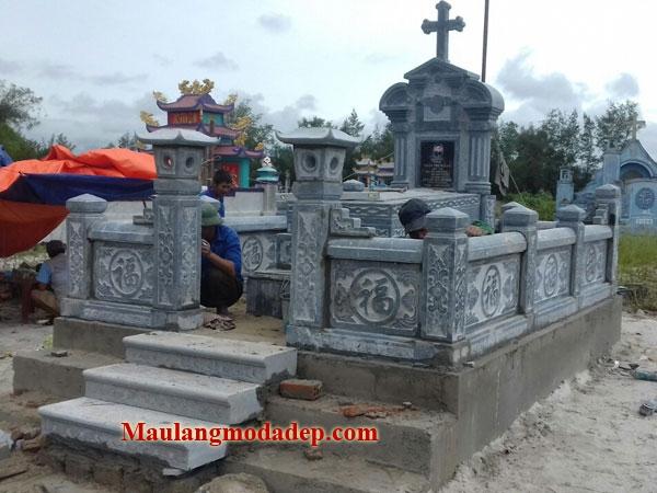 Mẫu khu lăng mộ LD 13