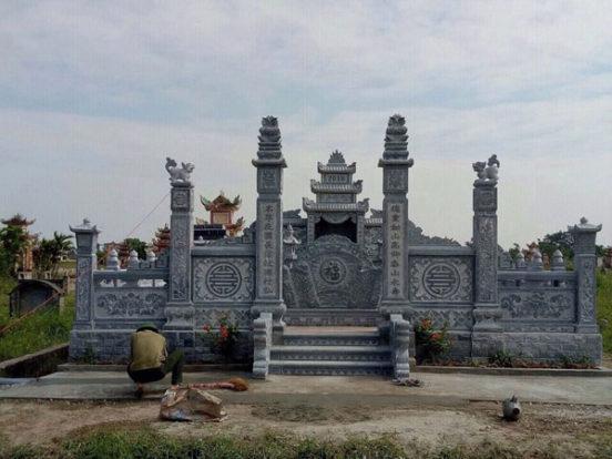 Mẫu khu lăng mộ LD 14