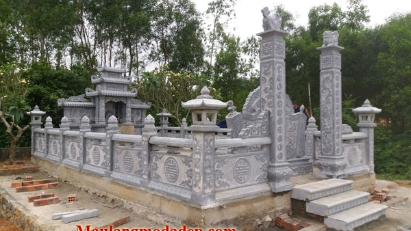 Mẫu khu lăng mộ LD 17