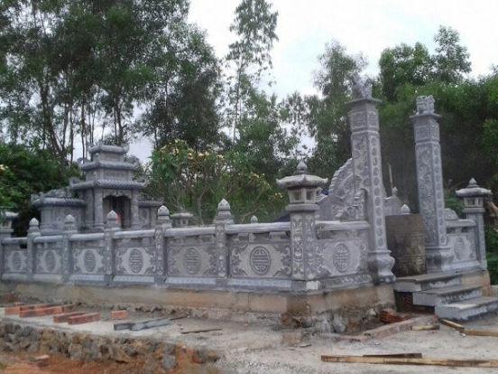 Mẫu khu lăng mộ LD 19