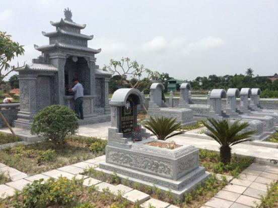 Mẫu khu lăng mộ LD 20