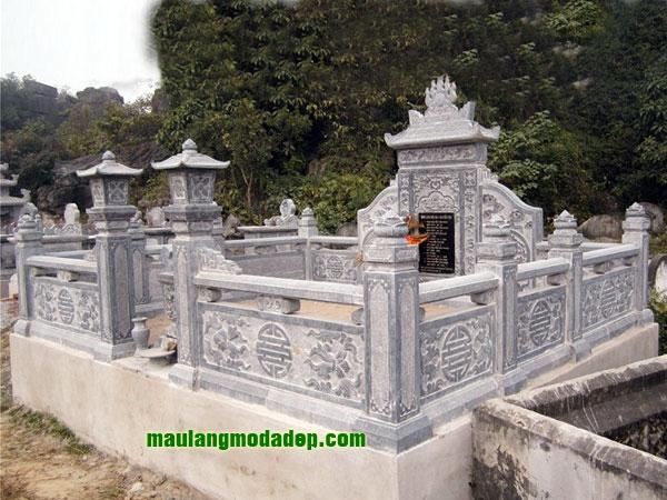 Mẫu khu lăng mộ LD 23