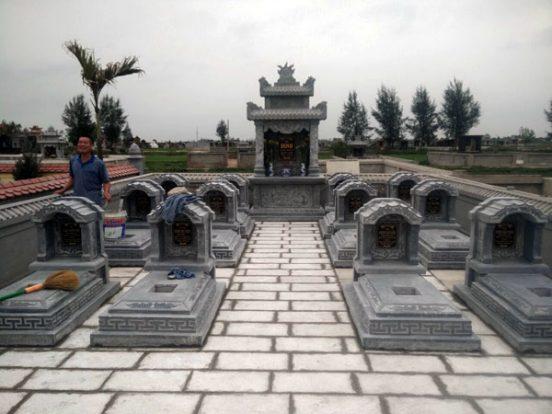 Mẫu khu lăng mộ LD 24