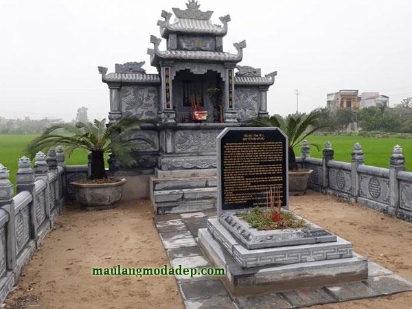 Mẫu khu lăng mộ LD 30 01