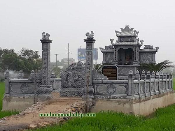 Mẫu khu lăng mộ LD 30