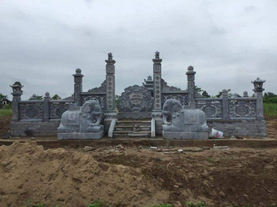 Mẫu khu lăng mộ LD 32