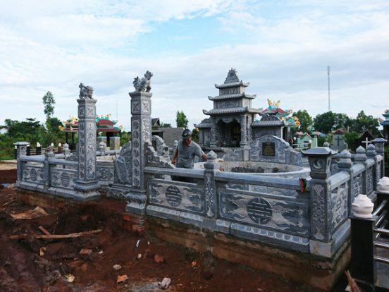 Mẫu khu lăng mộ LD 33