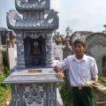 Mẫu mộ ba mái LD 08