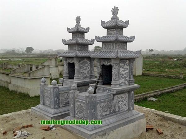 Mẫu mộ ba mái LD 09