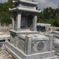 Mẫu mộ ba mái LD 11