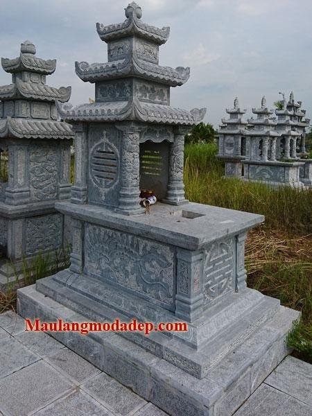 Mẫu mộ ba mái LD 16