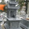 Mẫu mộ ba mái LD 19