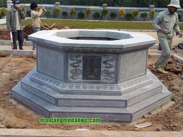 Mẫu mộ bát giác LD 01