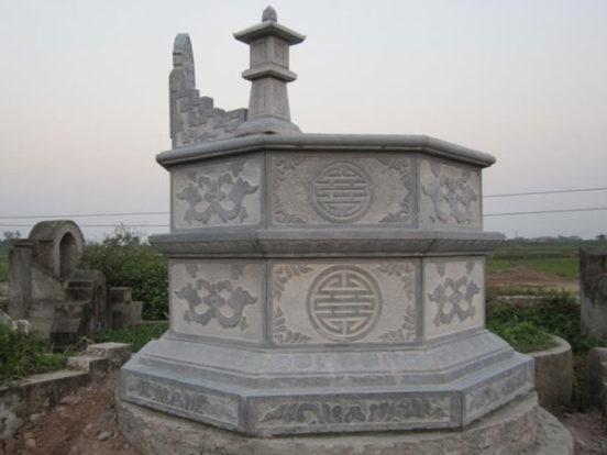 Mẫu mộ bát giác LD 07
