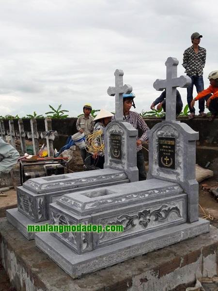 Mẫu mộ công giáo LD 01