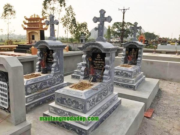 Mẫu mộ công giáo LD 03