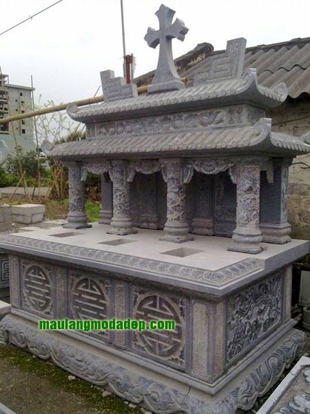 Mẫu mộ công giáo LD 09