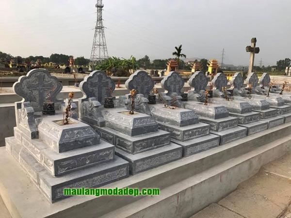 Mẫu mộ công giáo LD 10