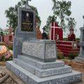Mẫu mộ công giáo LD 12