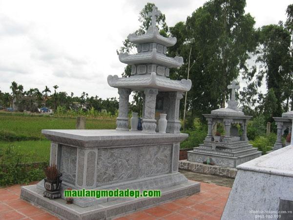 Mẫu mộ công giáo LD 14