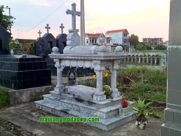 Mẫu mộ công giáo LD 15