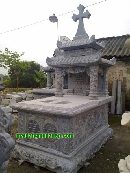 Mẫu mộ công giáo LD 16