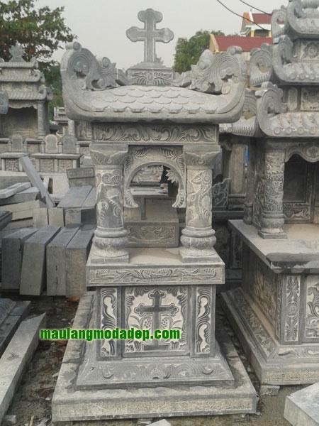 Mẫu mộ công giáo LD 17