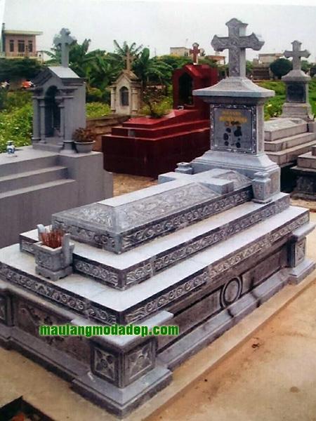 Mẫu mộ công giáo LD 24