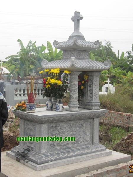 Mẫu mộ công giáo LD 30
