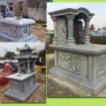 Mẫu mộ đá đẹp giá rẻ tiết kiệm