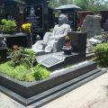 Mẫu mộ đá hoa cương granite LD 01