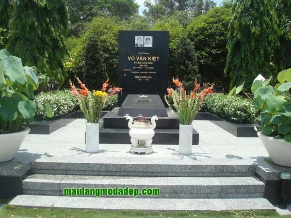 Mẫu mộ đá hoa cương granite LD 03