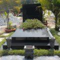 Mẫu mộ đá hoa cương granite LD 04