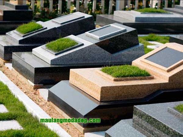 Mẫu mộ đá hoa cương granite LD 06