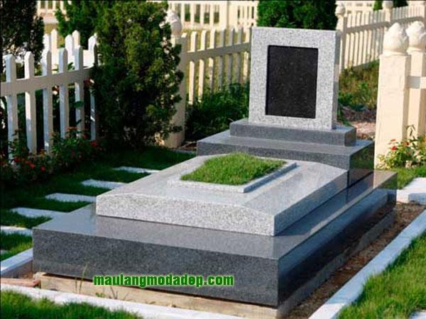 Mẫu mộ đá hoa cương granite LD 08