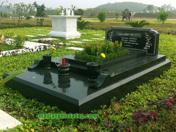 Mẫu mộ đá hoa cương granite LD 10