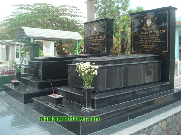 Mẫu mộ đá hoa cương granite LD 14