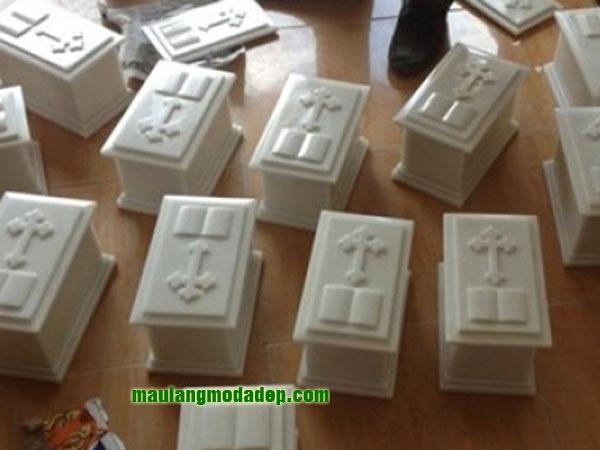 Mẫu mộ đá trắng LD 02