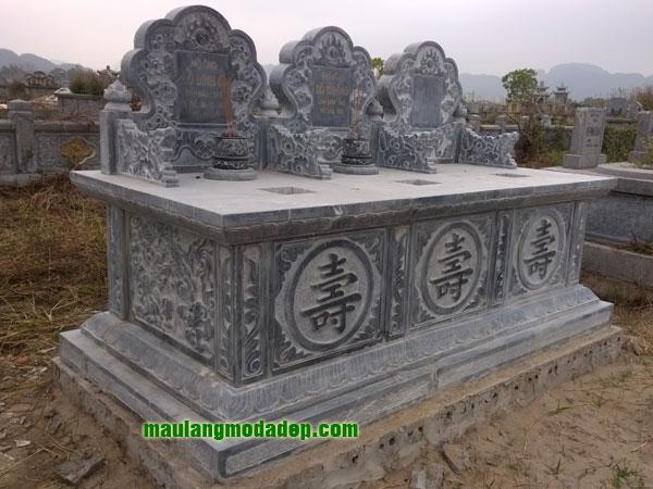 Mẫu mộ đôi LD 16