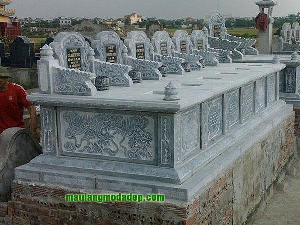 Mẫu mộ đôi LD 22