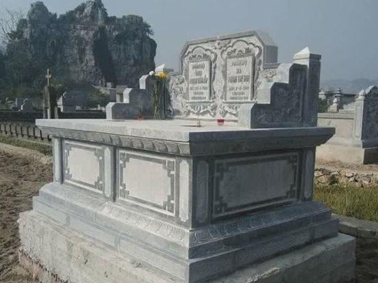 Mẫu mộ đôi LD 34