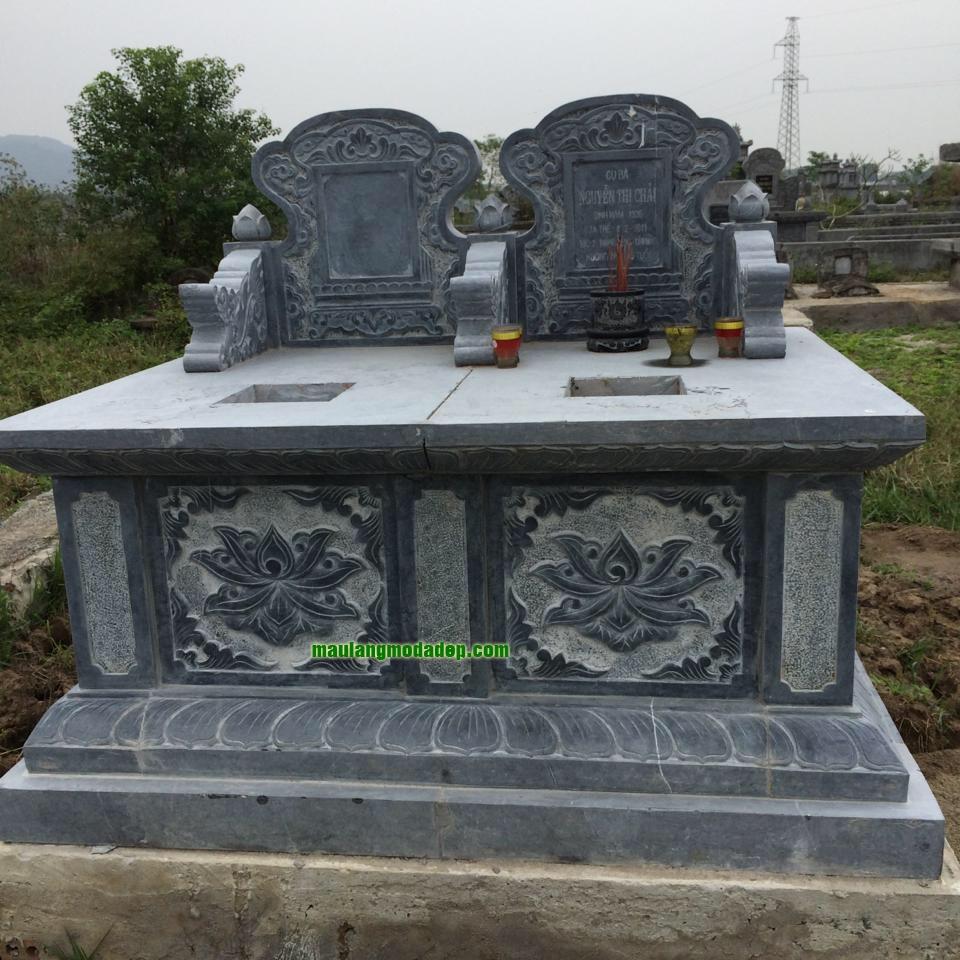 Mẫu mộ đôi LD 37